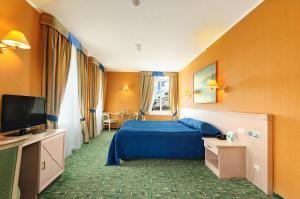 Кровать или кровати в номере Old Estate Hotel & SPA