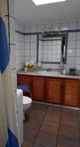 Een badkamer bij Casa Óscar