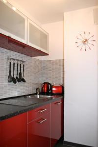 Küche/Küchenzeile in der Unterkunft Apartment Fairview