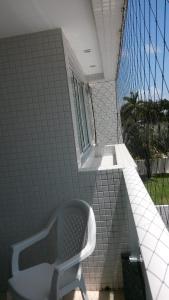 A balcony or terrace at Apartamento Cabo Branco
