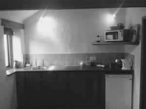 A kitchen or kitchenette at Slapton Manor