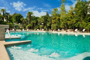 The swimming pool at or near Abano Grand Hotel