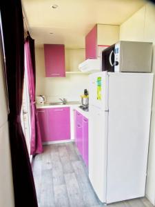 Kuhinja oz. manjša kuhinja v nastanitvi Mobile Home Amor