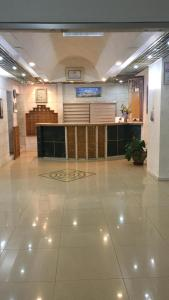 The lobby or reception area at Jerusalem Panorama Hotel