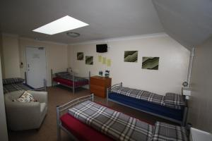 A seating area at Ballater Hostel