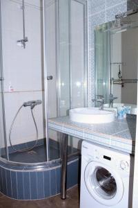 Ванная комната в Apartments on Stepana Razina