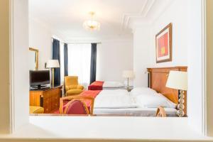 Ein Bett oder Betten in einem Zimmer der Unterkunft Residence Bologna