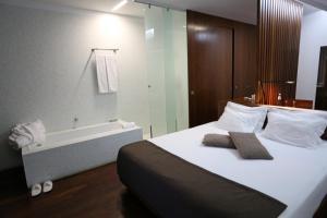 Uma cama ou camas num quarto em Douro Scala