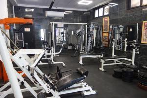 Фитнес център и/или фитнес съоражения в Аквамарин Хотел