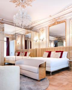 Uma área de estar em Hotel Bowmann