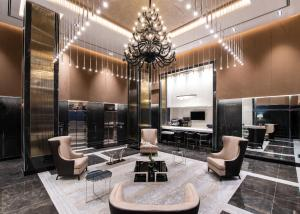 The lobby or reception area at Aliz Hotel Times Square