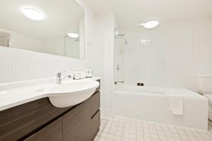 A bathroom at Quest Newcastle