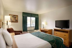 A television and/or entertainment center at Travelodge by Wyndham Marysville