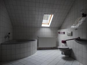 A bathroom at Ferienwohnung Franke