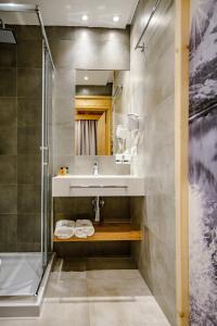 A bathroom at Skansen Holiday