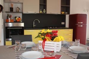 Cucina o angolo cottura di Casa Bruni