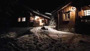 La Ferme des Vonezins during the winter