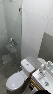 Ein Badezimmer in der Unterkunft Chao Mamá