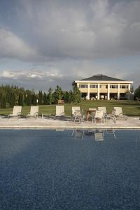 The swimming pool at or near Estancia Mendoza Wine Hotel