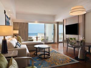 A seating area at Hilton Bali Resort