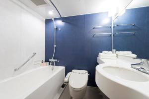 A bathroom at Hotel Villa Fontaine Tokyo-Hamamatsucho