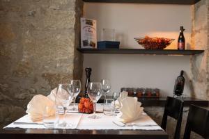Ein Restaurant oder anderes Speiselokal in der Unterkunft Gasthof Pizzeria Weingarten