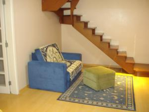 A seating area at Apartamento/Duplex Suite 2D Wi-Fi