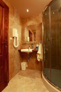 A bathroom at Penzion Villa Regia