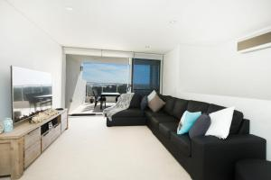 A seating area at Waterline Penthouse 304