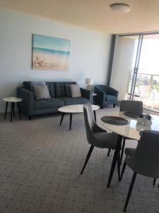 A seating area at Ebbtide, Unit 23, 2-6 North St, Forster