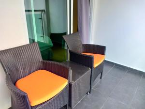A seating area at G Langkawi Motel
