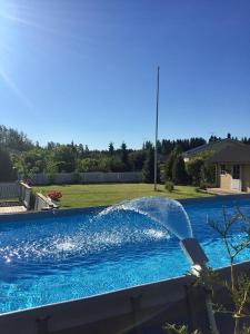 The swimming pool at or near Large private house, sauna/jacuzzi, 29 km fr Helsinki