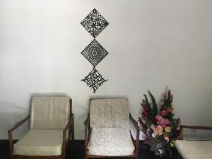 Et opholdsområde på Araliya Home Stay