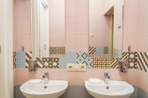 Ein Badezimmer in der Unterkunft Hostels Rus Samara
