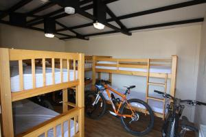 A bunk bed or bunk beds in a room at The White Horse Inn Bunkhouse