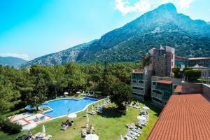 Blick auf Liberty Hotels Lykia - Adults Only (+16) aus der Vogelperspektive