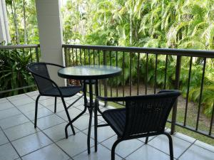 A balcony or terrace at Golden Cane @ Castaways