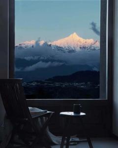 Pogled na planine ili pogled na planine iz hotela