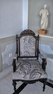 A seating area at Villa Andromeda