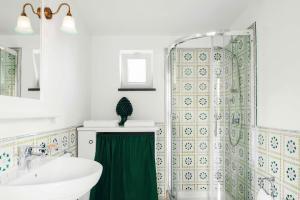 A bathroom at La Dimora