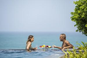 The swimming pool at or near Marino Beach Colombo
