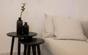 Een zitgedeelte bij Super Stylish Apartments in Syntagma Square!
