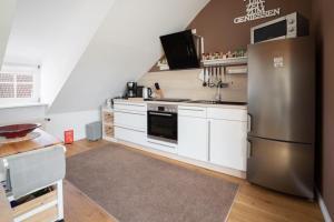 Küche/Küchenzeile in der Unterkunft Apartment Anno 1720