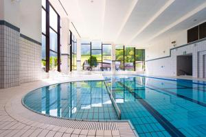 The swimming pool at or near Hotel Tangram