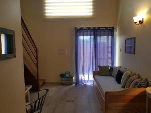A seating area at Anaté Beach Apartments, Mangel Alto
