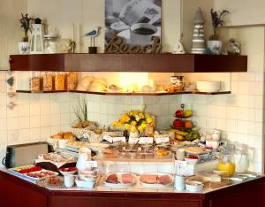 Küche/Küchenzeile in der Unterkunft Hotel Hanseatic