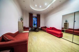 Гостиная зона в Guesthouse on Bolshoy Kazennyy