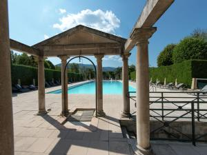 The swimming pool at or near Spacious Villa in Drome with Swimming Pool