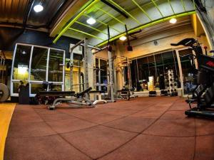 The fitness center and/or fitness facilities at DG Budget Hotel Salem