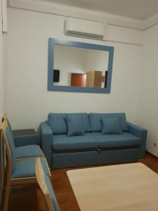 A seating area at Family Home